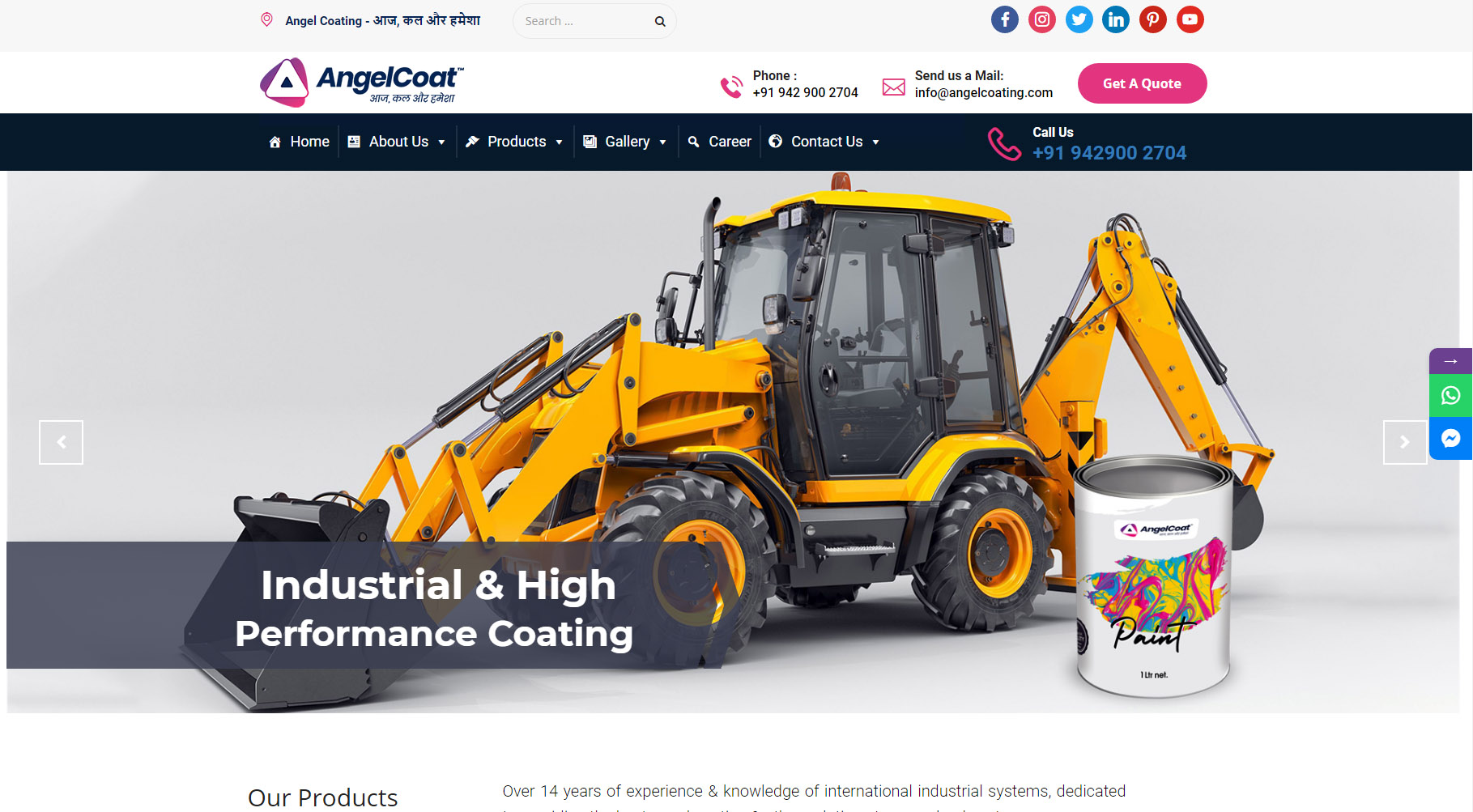 Angel Coating - Starland IT Solution