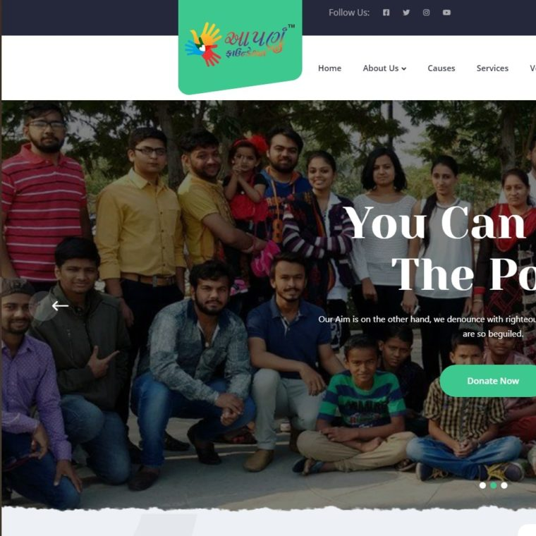 Aapnu Foundation - Starland IT Solution