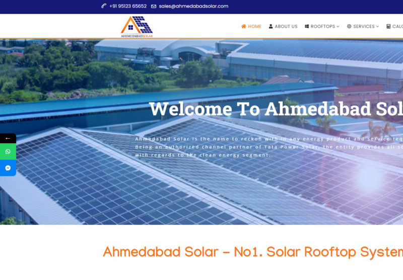 Ahmedabad Solar - Starland IT Solution