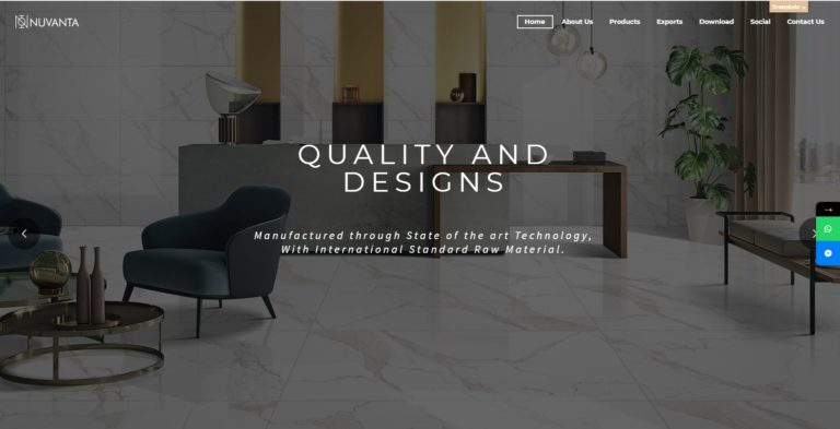 Nuvanta Tiles - Starland IT Solution