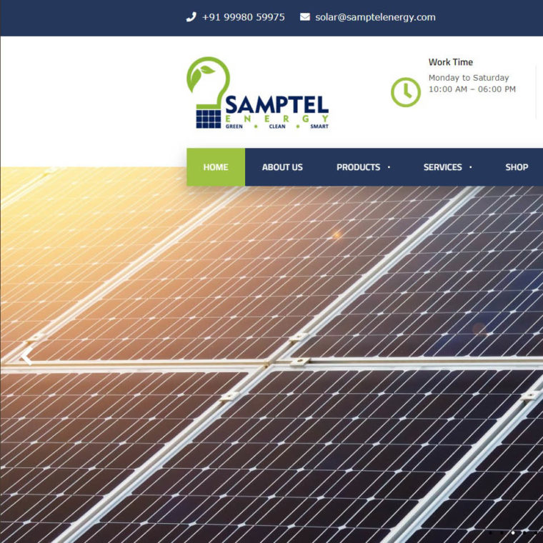 Samptel Energy - Starland IT Solution