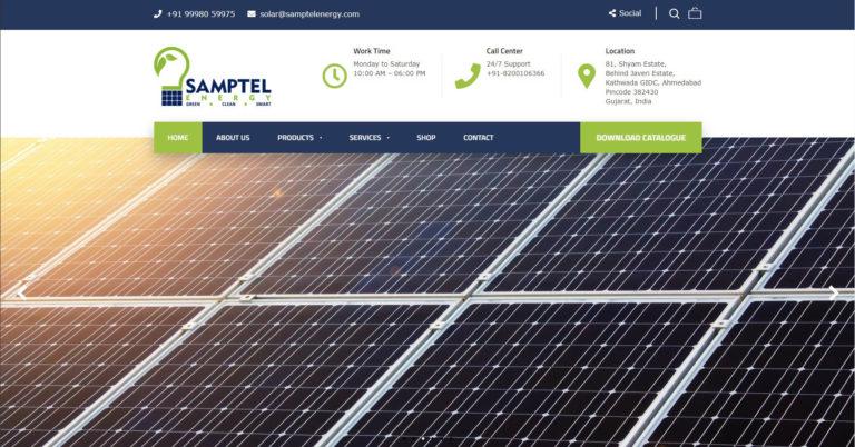 Samptel Energy - Starland IT Solution