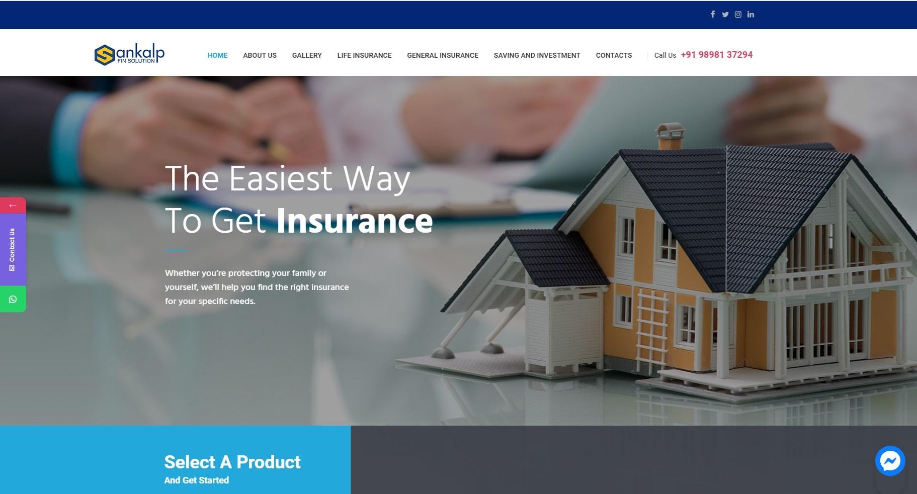 Sankalp Fin Solution - Starland IT Solution