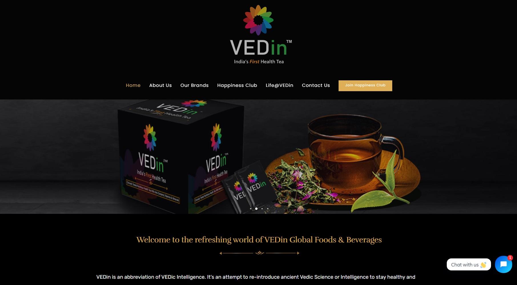 The VEDin Black Tea - Starland IT Solution