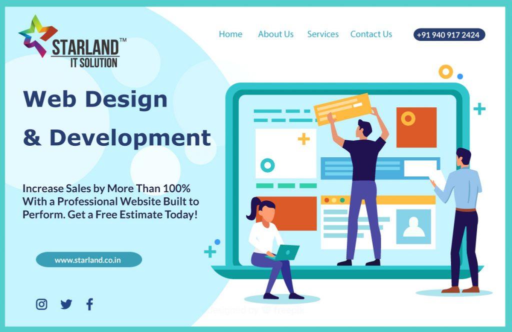 Web Design & Development Company in Ahmedabad